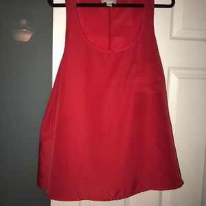 Forever 21 Plus Red Tank Top Size 3x